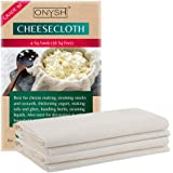 Cheesecloth for Straining - Grade 90-100% Ultra Fine Unbleached Cooking Filter [Extra Large Cut 3.5m x 1m]