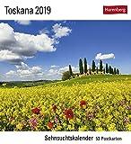 Toskana 2019: Sehnsuchtskalender, 53 Postkarten