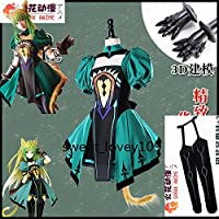 Fate/Grand Order アタランテ コスプレ衣装+靴下+手袋+髪飾り+尻尾+手飾り+耳 全セット