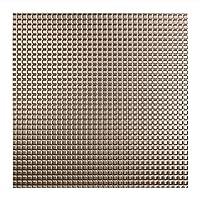 Fasade–Square Lay In天井タイル/天井パネル迅速かつ簡単インストール– 2' x 2' Tile シルバー L62-29