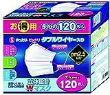 東京企画販売 立体設計Wワイヤーマスク大人 120枚
