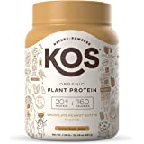 Kos Organic Chocolate Peanut Butter Plant Protein, 20.56 OZ