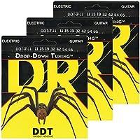 DR エレキ弦 7弦 DROP-DOWN TUNING ニッケルメッキ .011-.065 DDT7-11 3SETパック
