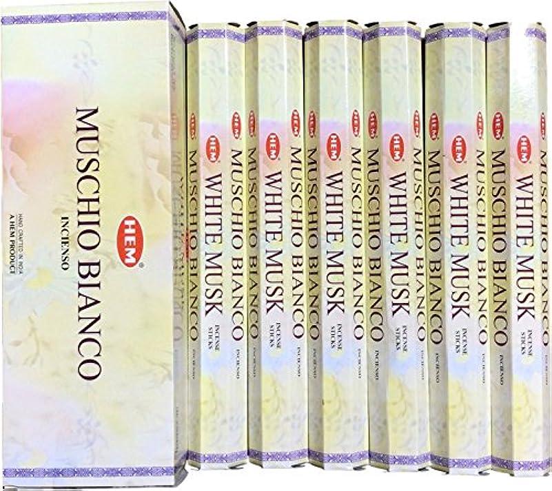 インデックスプレビスサイト勝つHEM ヘム ホワイトムスク WHITEMUSK ステック お香 6本 セット