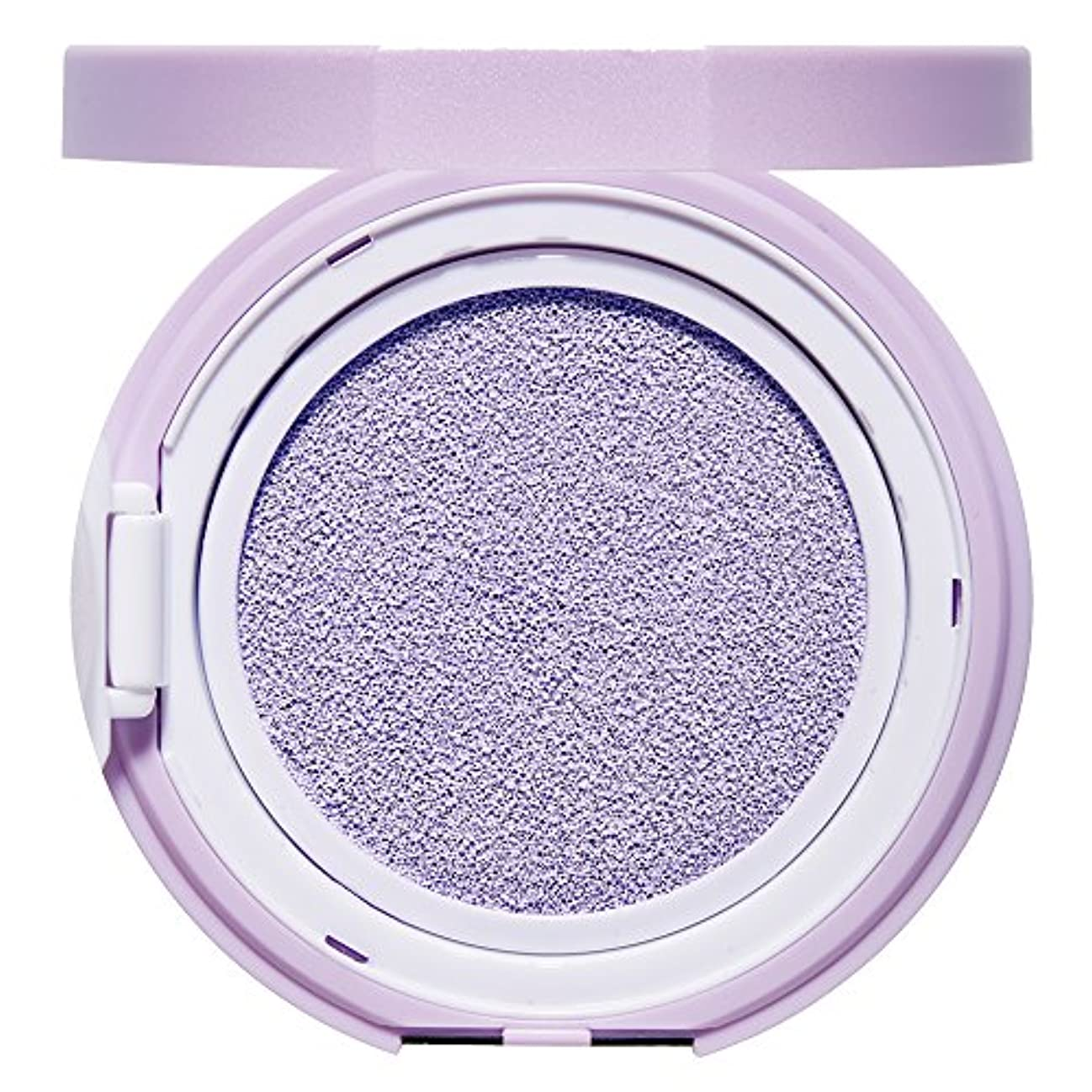 芝生墓地疲労エチュードハウス(ETUDE HOUSE) エニークッション カラーコレクター Lavender[化粧下地、コントロールカラー、紫、パープル]