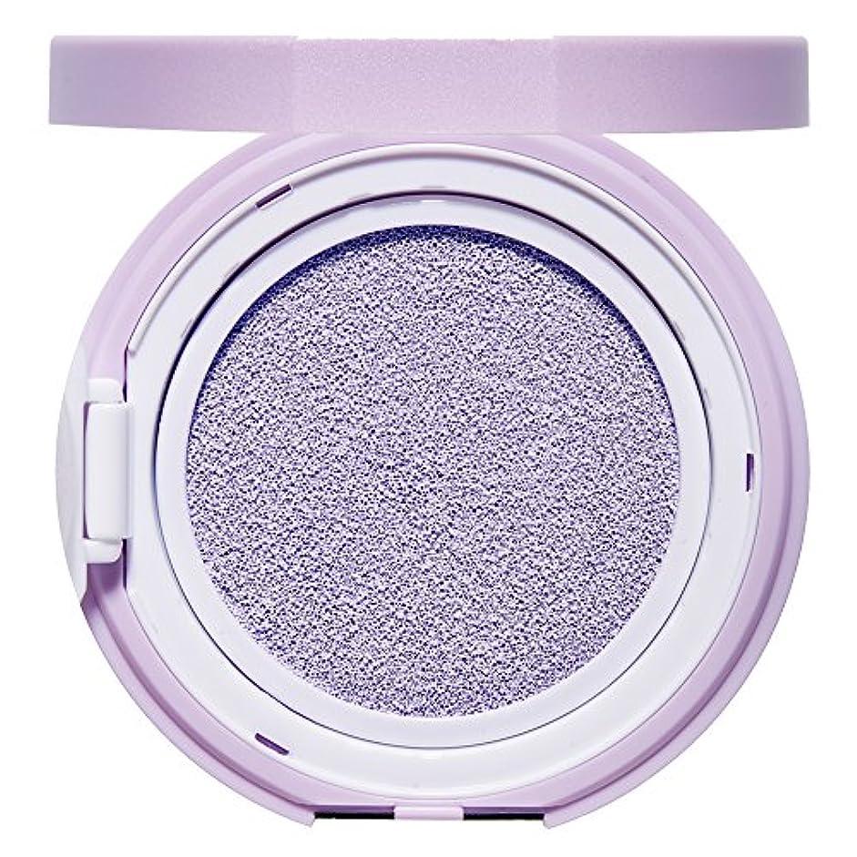 メーカー落胆した巨大エチュードハウス(ETUDE HOUSE) エニークッション カラーコレクター Lavender[化粧下地、コントロールカラー、紫、パープル]