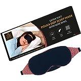 Samadhaan Cotton Sleep Mask For Sleeping - Premium, Soft, Comfortable Night Eye Mask | Blindfold For Travelling | Blackout Ma