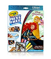 Crayola Color Wonder Glitter Pad & Markers Princess Toy [並行輸入品]