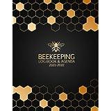 Beekeeping Log Book and Agenda 2021-2022: Beekeeping Journal Log Book Calendar Agenda 21-22 | 160 Pages Beehive Inspection Ch