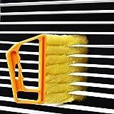 Window Venetian 7 Finger Dusting Cleaner Tool Mini Blind Duster Brush Dust Clean Venetian Blind Brush Window Air Conditioner