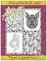Adult Coloring Book v1 (Coloring Books for the Creative)