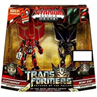 Transformers トランスフォーマー 2: Revenge of the Fallen Exclusive 限定 Titanium Series シリーズ Die Cast Figure フィギュア 2-Pack Cliffjumper クリフ and Dead End [並行輸入品]