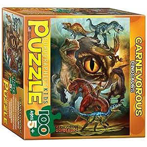 Eurographics 8100–0359Carnivorous恐竜100-pieceパズル