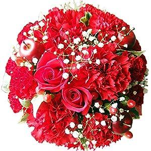花金・高岡本店 ベストセラー1位獲得商品 (①AGT 赤 プライムお急ぎ便) ギフト 誕生日 結婚記念日  お祝い 還暦 母の日 花 花束 プレゼント
