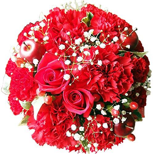 花金・高岡本店 ベストセラー1位獲得商品 (?AGT 赤 日時指定便)  ギフト 誕生日 結婚記念日  お祝い 還暦 母の日 花 花束 プレゼント