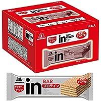 inバー プロテイン ナッツ (14本入×1箱) ナッツペーストの甘味を感じるウェファータイプ 高タンパク10g