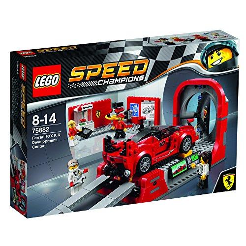 [해외] 레고(LEGO) 스피드 챔피언 페라리 FXX K & 테스트 센터 75882-75882 (2017-03-03)