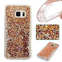 Galaxy s7ケース、Ranyi [グリッター液体ケース] [ Glitter &液体移動Around ] Luxury流れる液体フローティングGlitter Bling Sparkle Quicksand Case for Samsung Galaxy s7( 2016Release ) Ranyi-2032448