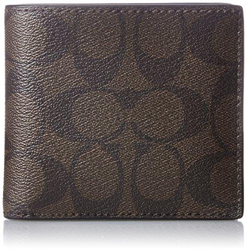 [コーチ] 二つ折り財布 [アウトレット] シグネチャー F75006 MA/BR マホガニー/ブラウン [並行輸入品]