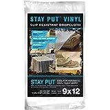 Trimaco Stay Put Vinyl Dropcloth, 04301