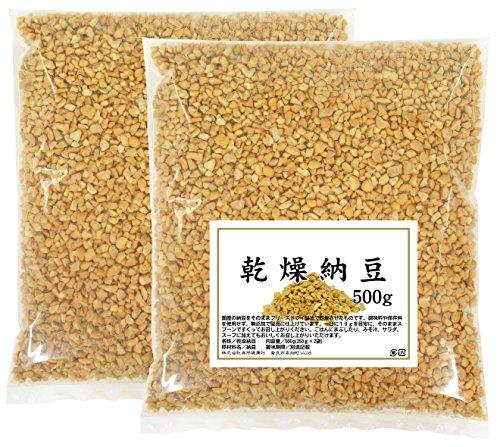 自然健康社 自然健康社 乾燥納豆 500g(250g×2袋) 密封袋入り