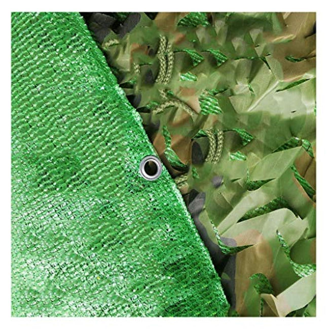 空虚トラフにおい屋外旅行の夏の日よけ(カモフラージュグリーン)マルチサイズに適した防蚊テント装飾ネット (サイズ さいず : 4*6m)