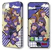 デザエッグ デザジャケット 忍たま乱太郎 iPhone 5ケース&保護シート デザイン03[5s対応] DJAN-IPN5-m03