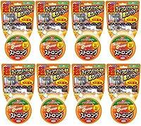 【まとめ買い】スーパーオレンジ ストロング 多目的クレンザー 超マイクロパウダー配合 鏡のウロコ状汚れ・コゲ・水アカ・湯アカ・油汚れに 95g×8個