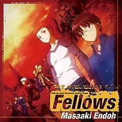 遠藤正明「Fellows」のCDジャケット