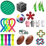 Sensory Fidget Toys Set, 24-Pack-Stress Relief and Anti-Anxiety Tools Bundle Toys Assortment,Stocking Stuffers for Kids Adult