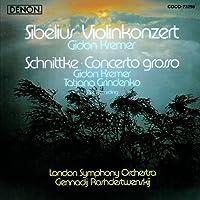 Sibelius: Violin Concerto / Schnittke: Concerto Grosso (2012-06-20)