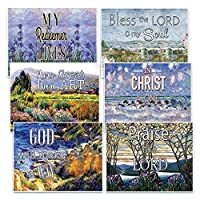 Christian Bible Verseはがきで – キリストAlone ( 30-pack ) Christian Bibleテーマコレクション&ギフトwithインスピレーション、モチベーション、Encouraging Scripture Basedメッセージ