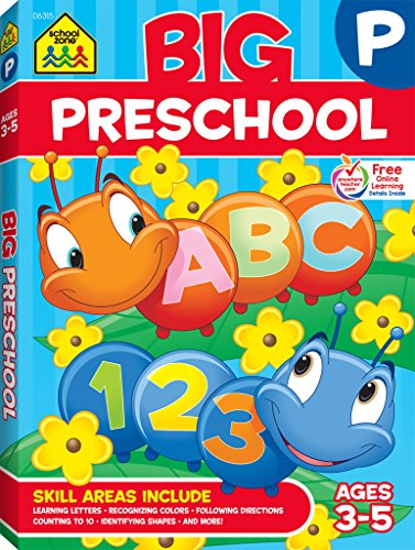 Big Preschool Workbook: Ages 3-5の詳細を見る
