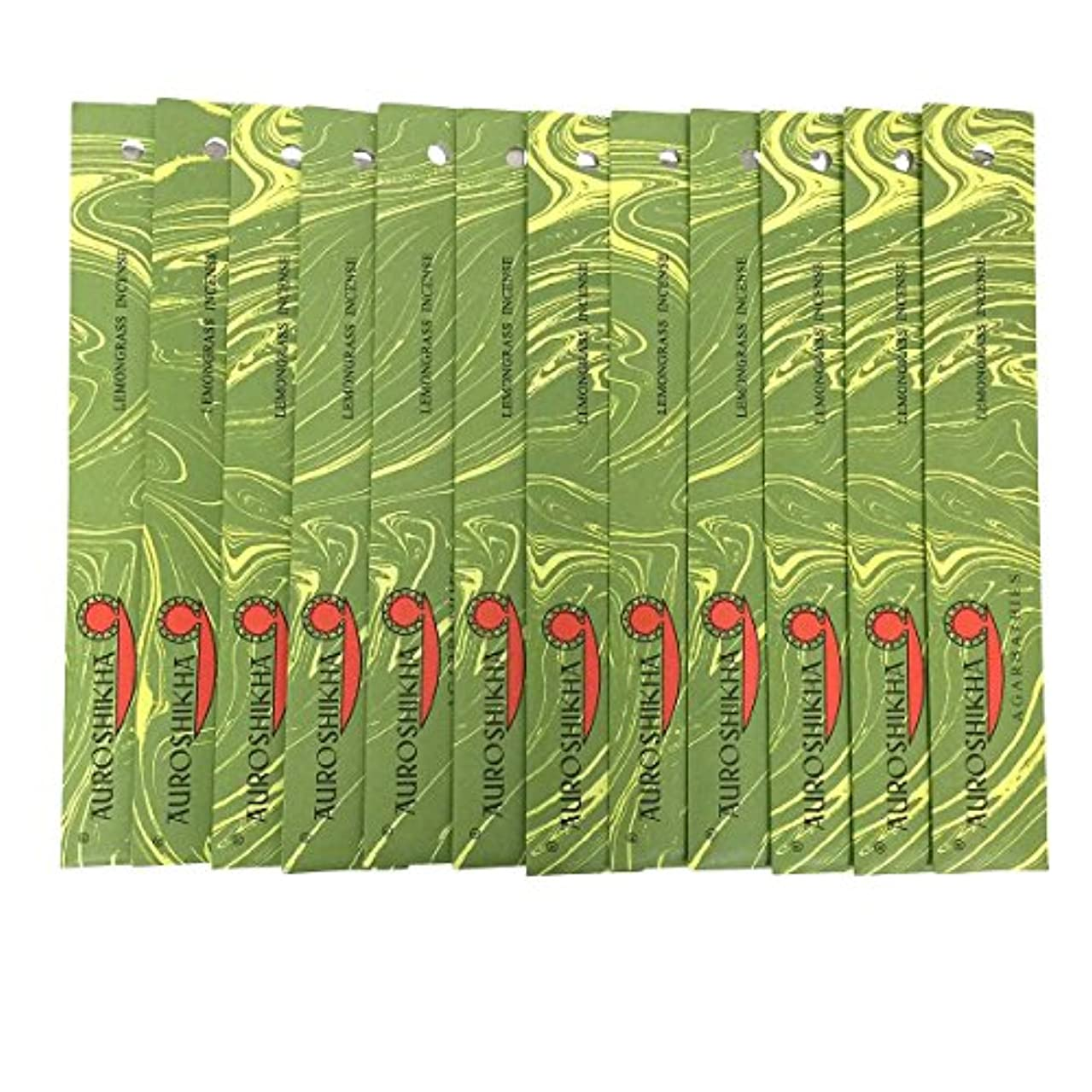 家禽マートバルブAUROSHIKHA オウロシカ(LEMONGRASSレモングラス12個セット) マーブルパッケージスティック 送料無料