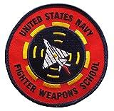 ミリタリーワッペン アメリカ軍パッチ TOPGUN, N.F.W.S (ノーマル仕様) [並行輸入品]