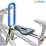 UrRider Child Bike Seat, Portable, Foldable & Ultralight Front Mount Baby Kids' Bicycle Carrier Handrail Mountain Bikes, Hybr