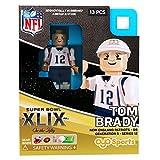 Tom Brady NFL OYO New England Patriots S.B. XXXIX L.E. of 2,015 Generation 3 Super Bowl 50 Series G3 Mini Figure