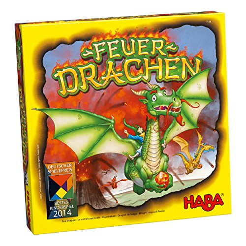 Spielbox Magazine HAB7124 Fire Dragon Intl