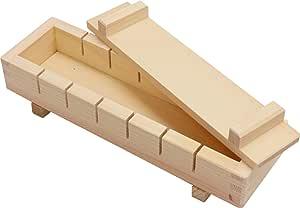 市原木工所 寿司 押し寿司 桧 長さ27.5×幅8.5×高さ5.5cm 樹婦人 桧押し寿司器 7ッ切