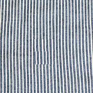 手芸のいとや 生地 ダブルガーゼ デニム風ガーゼ ヒッコリーブルー 生地幅-約108cm×50cm 綿100%