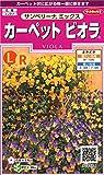 サカタのタネ 実咲花5574 カーペットビオラ サンベリーナ ミックス 00905574