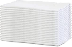 """"""" 轻薄易干 """" 100% 全棉白毛巾20条装业务用160钱34× 84cm"""