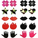 Self Adhensive Nipple Covers Disposable Lingerie Breast Pasties Petals