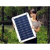 Sun Pad (サンパッド) 40Wで極薄2.6ミリ 1.9kgの超軽量でスタイリッシュデザイン  物干し竿に吊り下げ可能な、高効率のソーラーパネル ~マンションのベランダで、美しく太陽光発電を!