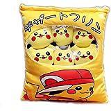 Cute Pocket Monster Pikachu Snack Pillow Set, Decorative Home Sofa Stuffed Animal Dolls
