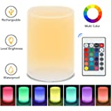 Tobeape Night Light, 16 Colors Baby BedsideLamp with Remote, Brightness Adjustment Night Lamp(Nursery Breastfeed Light for Ki