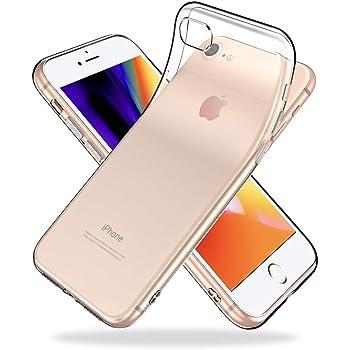 dd5fbb78de Youriad iPhone 8 iPhone 7 ケース カバー | 透明 クリア ソフト iPhone8 iPhon7 用 カバー| 特徴 軽量  4.7インチ 薄型 ストラップ ワイヤレス充電対応 落下防止 ...