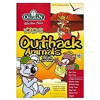 Orgran Outback Animals Vanilla Cookies (175g) Orgranアウトバック動物は( 175グラム)クッキーをバニラ