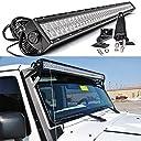 Tiauto 300W Ledライトバー ledワークライト 作業灯 LEDサーチライト 耐震 長寿命 集魚灯 ATV SUV車外ライト 並行輸入品