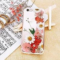押し花 flower フラワー iPhone6 6s TPU ケース 存在感抜群 カバー アイフォン6/6S対応